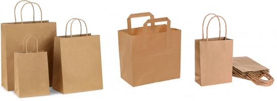 Пакеты из крафт-бумаги