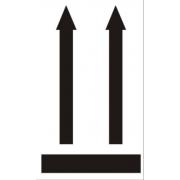 Наклейка «Верх», 4 шт.
