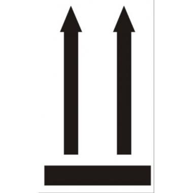 Наклейка «Вверх», 4 шт.