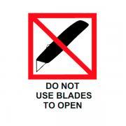 Наклейка «Не вскрывать ножом», 4 шт.