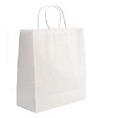 Бумажный пакет с крученой ручкой 26х15х35