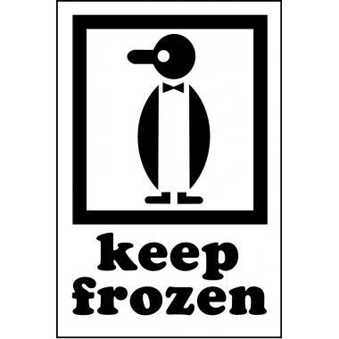 Наклейка «Хранить холодным», 4 шт.