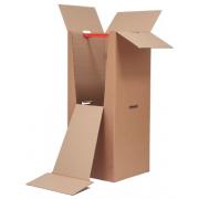 Коробка гардеробная из картона 120 см