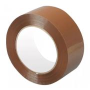 Клейкая лента коричневая, рулон 150 метров