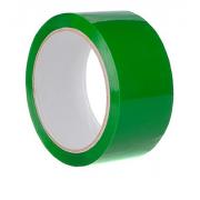 Клейкая лента зеленая, рулон 50 метров