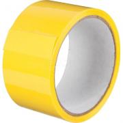 Клейкая лента желтая, рулон 50 метров