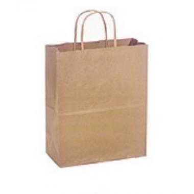 Бумажный пакет с крученой ручкой 24х14х28