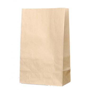 Бумажный пакет без ручки 22х12х29
