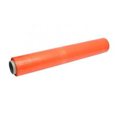 Плёнка стрейч оранжевая. 50 см, 1,5 кг